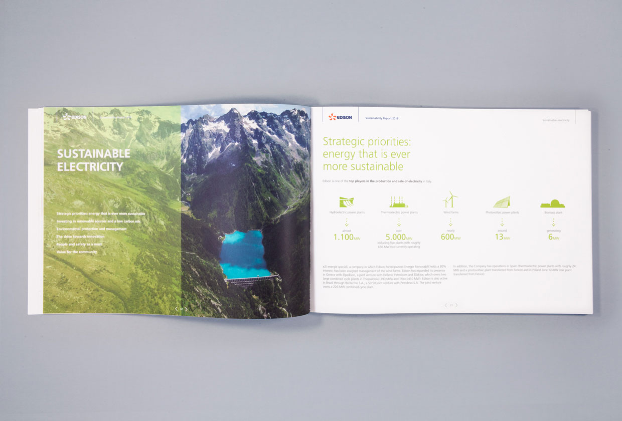 Edison,Sustainability Report 2016