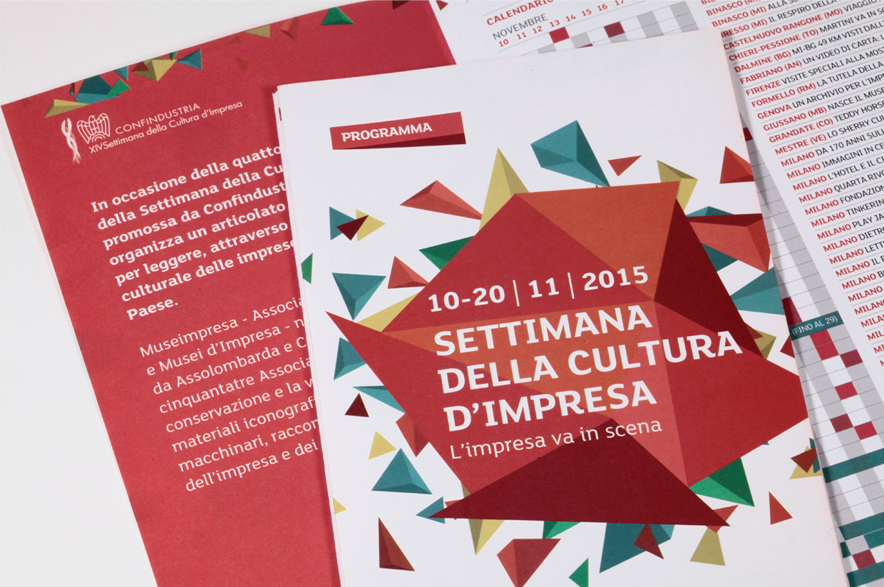 Museimpresa, Italian Association of Company Archives and Museums, 2015
